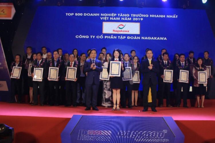 Nagakawa vinh dự nhận giải thưởng Top 500 doanh nghiệp tăng trưởng nhanh nhất 2019 – FAST 500